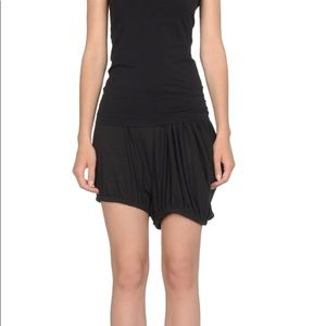 NWT Y-3 Adidas luxury jersey shorts, size medium.